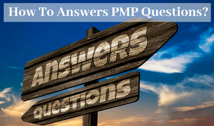 how to answer pmp questions