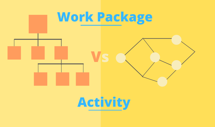 wbs work package vs activity