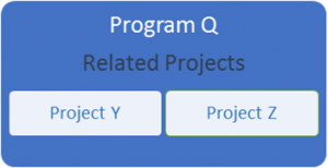 project vs program vs portfolio