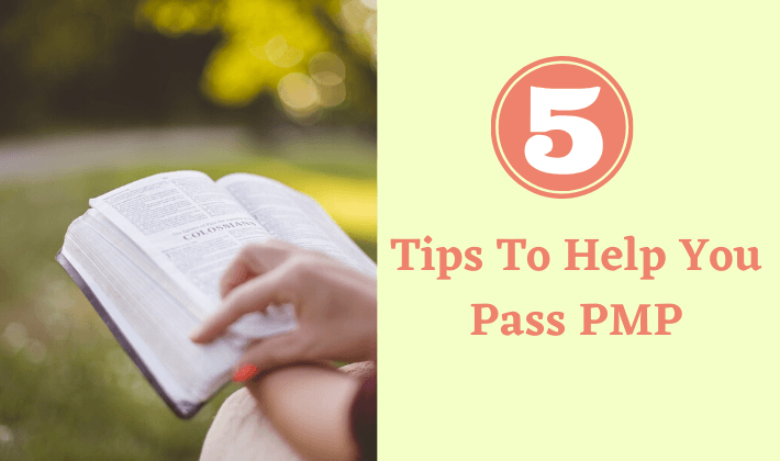 5 tips to help you pass pmp on your first try