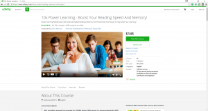 udemy courses page