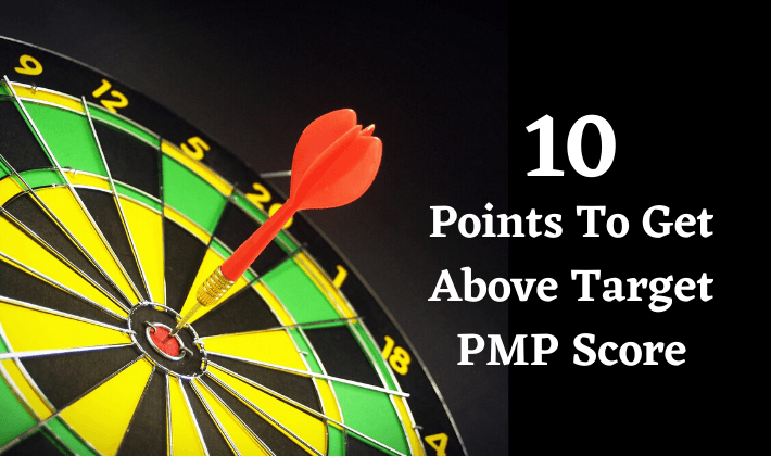 above target pmp exam