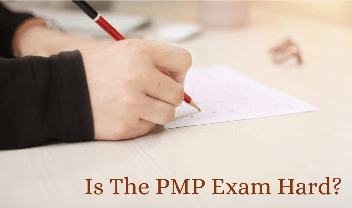 is the pmp exam hard
