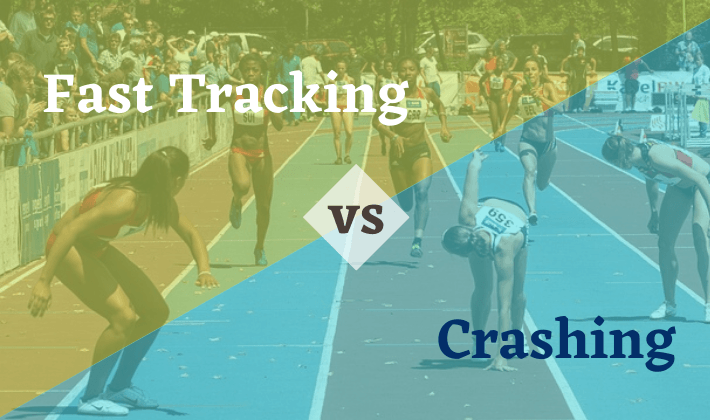 fast-tracking crashing project schedule compression