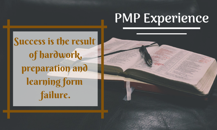 way to success in the pmp exam
